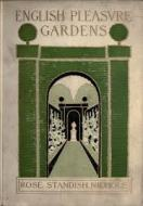 Copy of the Nichols' first book on gardening, English Pleasure Gardens.