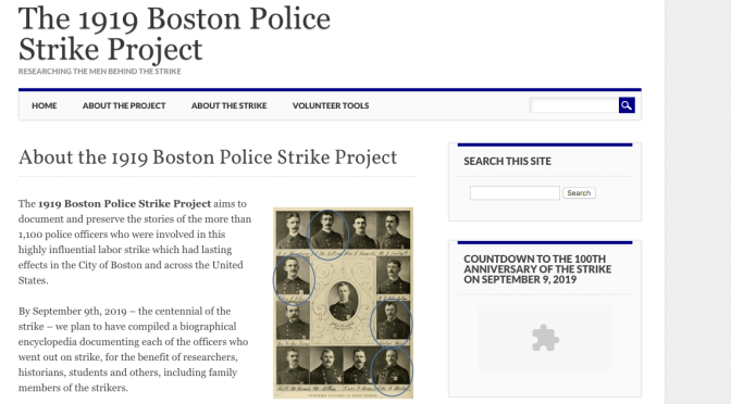 """Abandoned His Duty"": Uncovering the 1919 Boston Policemen Strike"