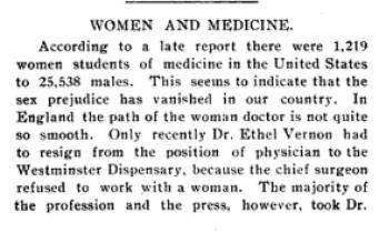 The Woman's Medical Journal, Vol. XV, No. 4. April 1905.