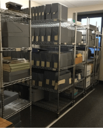 Research room/stacks at the MSPCA Archive