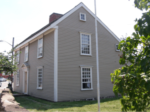 The John Quincy Adams Birthplace Home. Here, the tour will feature additional aspects of John Adams' law career and his role in drafting the Massachusetts Constitution. (Courtesy of Kurt Deion, 2011).