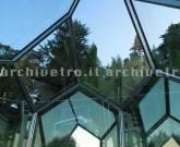 Struttura speciale in acciaio inox e vetro