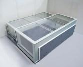 Lucernario in vetro apertura automatica - botola vetro accesso tetti