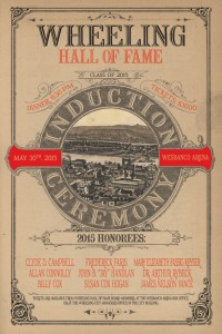 Wheeling Hall of Fame 2015 Induction Ceremony Poster