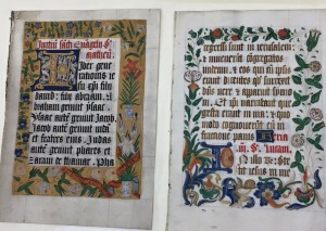 The Book of Hours at West Liberty University's Rare Books Room.