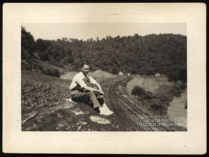 View from atop Rosbys Rock. Personal collection of William Burke.