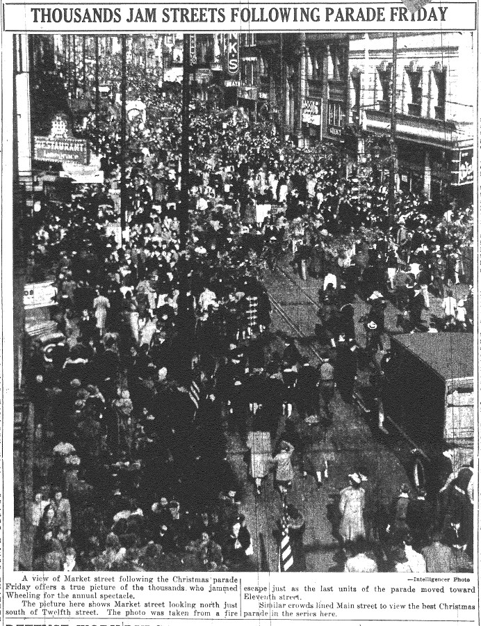 Market Street in the wake of the 1940 parade.