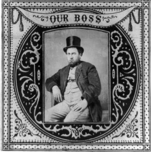 Boss Tweed circa 1869, Library of Congress