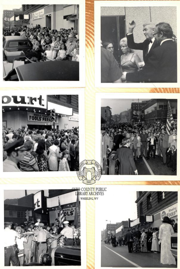 Photographs taken by Thomas Burns, The Fools' Parade collection, OCPL Archives.