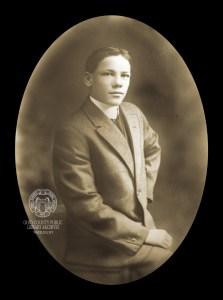 Portrait of Robert lee Ritz.