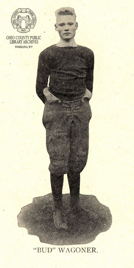 "Lawrence ""Bud"" Wagoner from the 1915 WHS Record."
