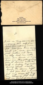 From Camp Lee to the Great War: The Letters of Lester Scott and Charles Riggle - From the personal collection of Marjorie Richey