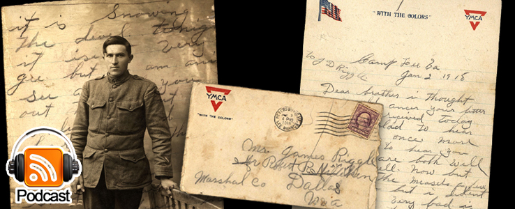 From Camp Lee to the Great War: The Letters of Lester Scott and Charles Riggle: Podcast Episode 23