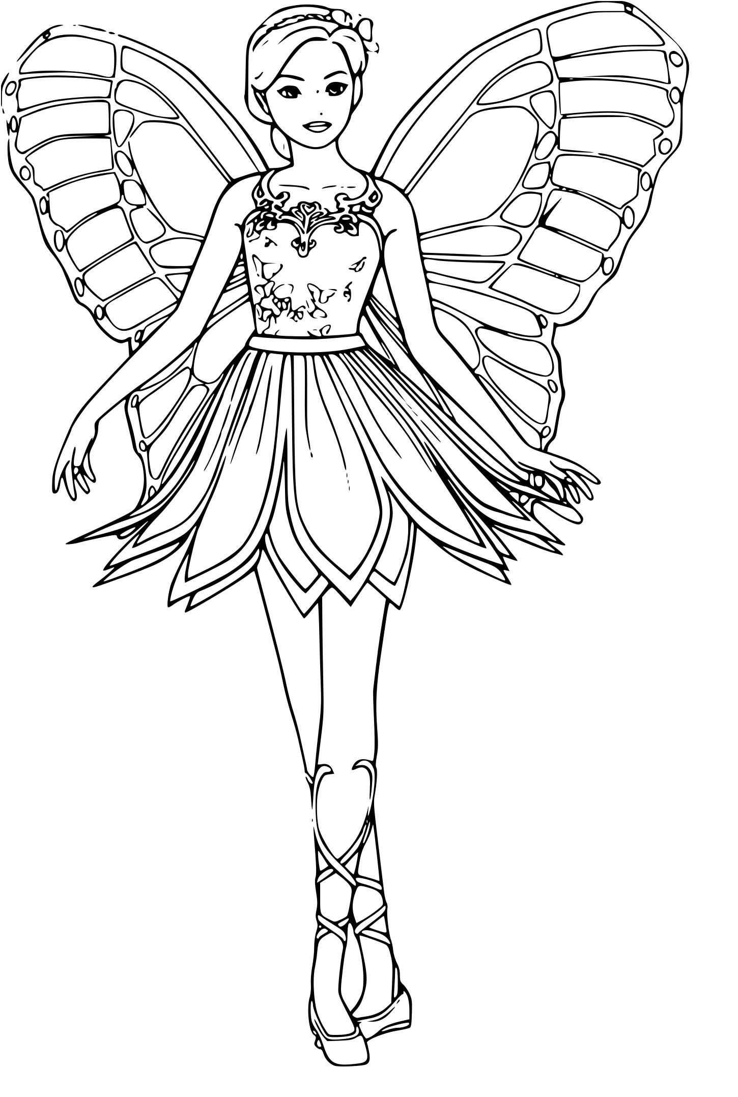 dessin à imprimer: Dessin A Imprimer Barbie A La Plage
