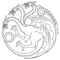 11 Exotique Coloriage Game Of Thrones Stock   COLORIAGE