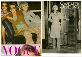 1972 VOGUE Vestirsi di maglia