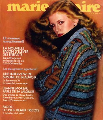 1976 MARIE CLAIRE foto Steven Silvenstein