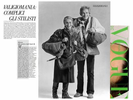 1980 VOGUE ITALIA Missoni alla maniera degli hippies