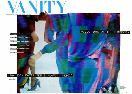 1982 VANITY Una moda fatta per i nuovi media