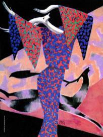 1985 VANITY disegno di Lorenzo Mattotti