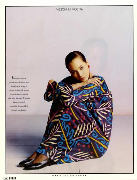 1988 DONNA Missoni in mostra