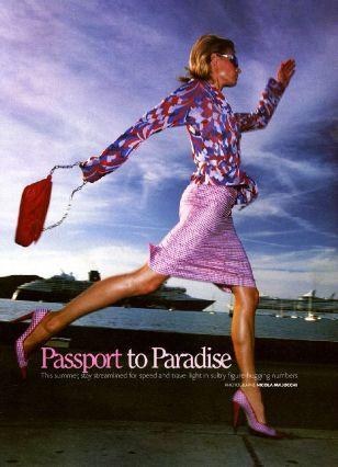 2001 COSMOPOLITAN Passport to Paradise