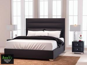 Моделирование спальни Titan