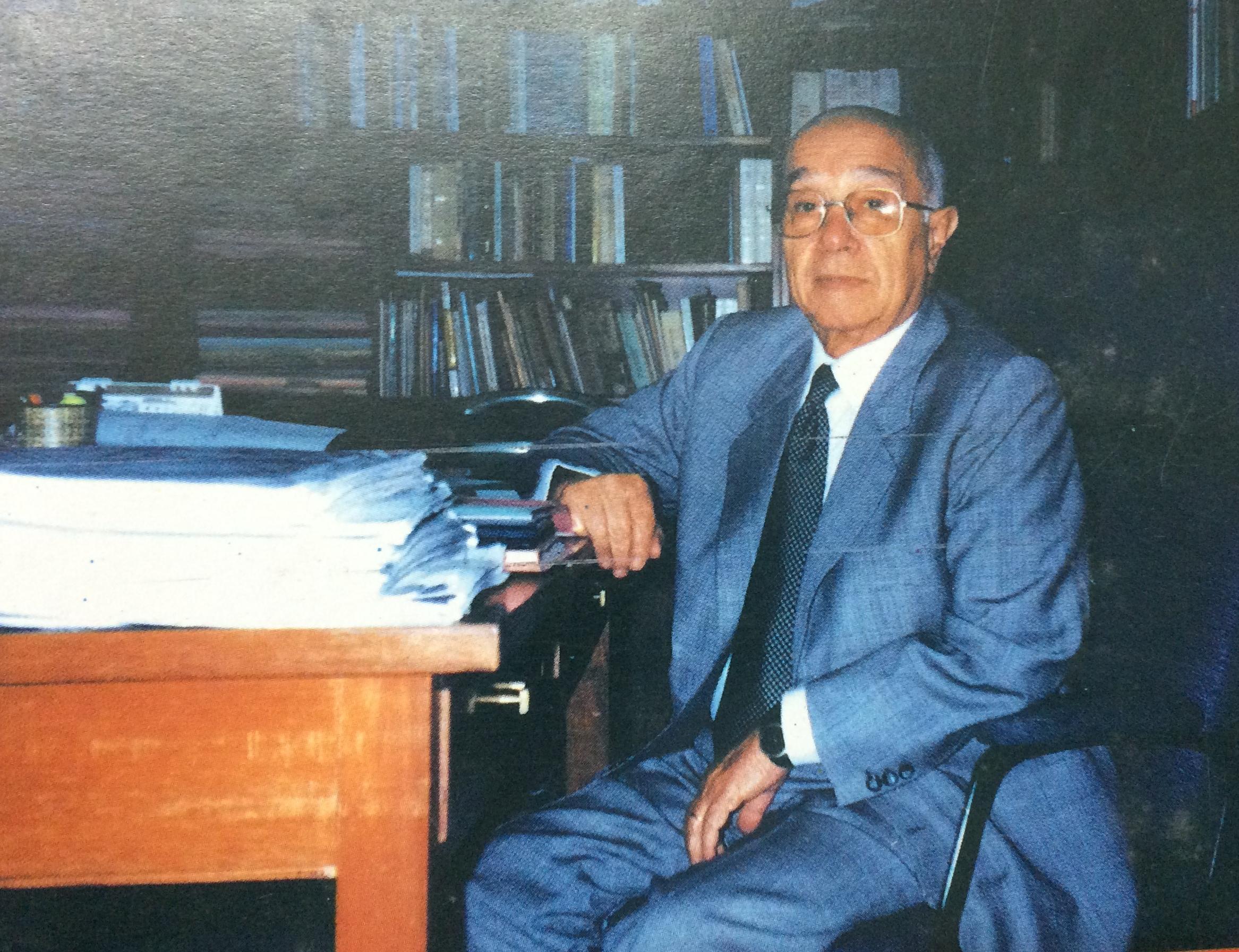 El inminente y prestigioso abogado y magistrado Dr Jos Mara Martocci ex miembro y presidente
