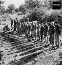 Un grupo de soldados alemanes son capturados en 1943