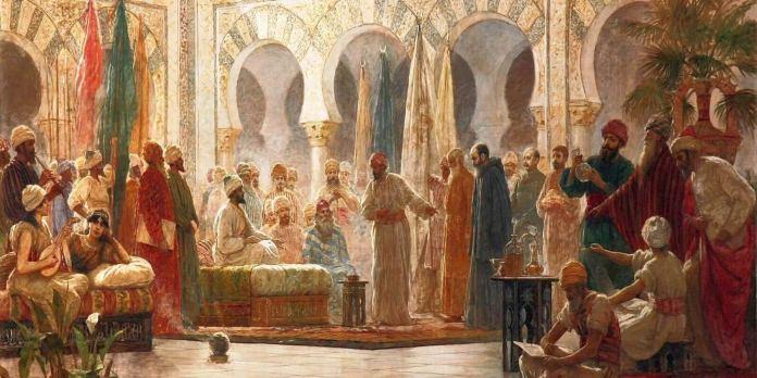Abderramán III, por Theodore Chasseriau (1845)