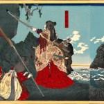 La-emperatriz-consorte-Jingū-llega-a-Corea_Pintura-de-1880