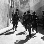 Legionarios en las calles de Badajoz