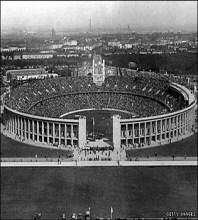 Estadio Olímpico de Berlín en 1936