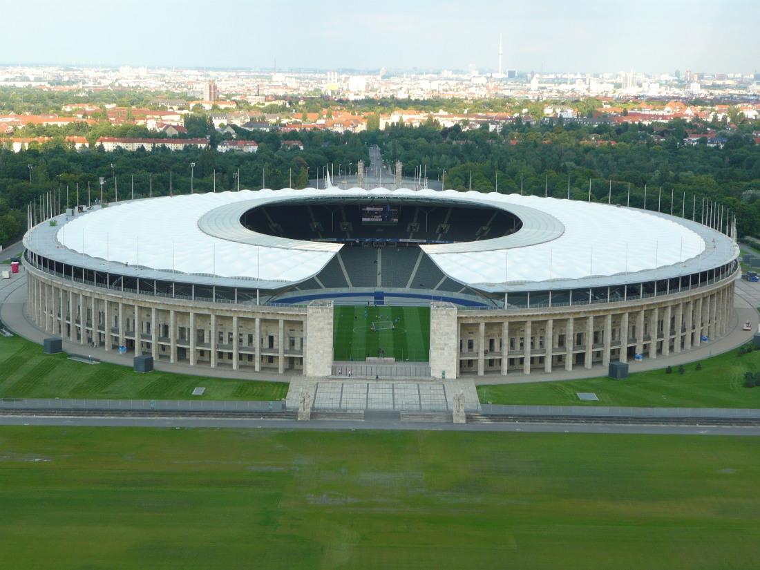 Estadio Olímpico de Berlín en la actualidad