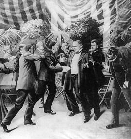 Litografía del asesinato de McKinley