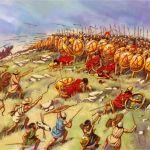 hoplitas contra infantería ligera