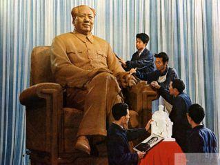 Estatua sentado de Mao