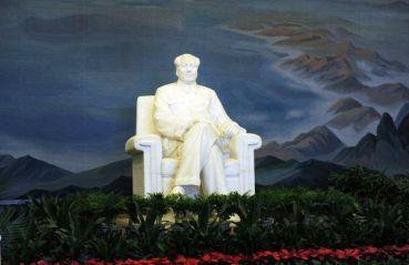 Mao sentado