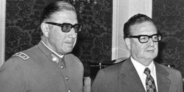 Allende y Pinochet