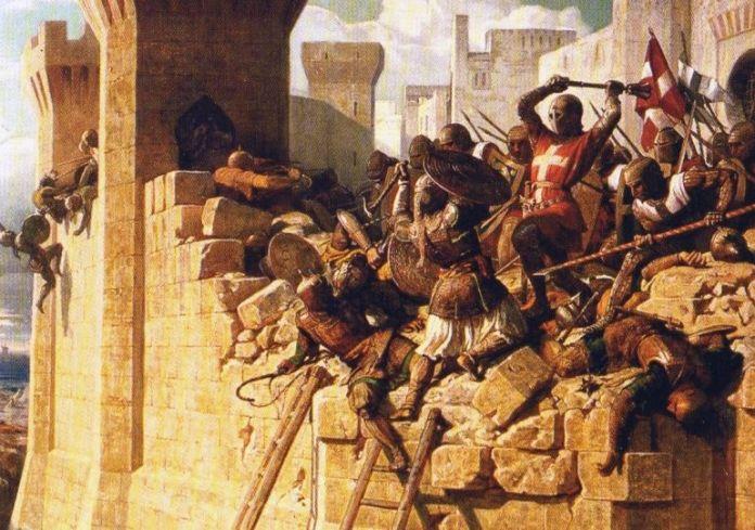 La guerra durante las tres primeras cruzadas: Avances militares