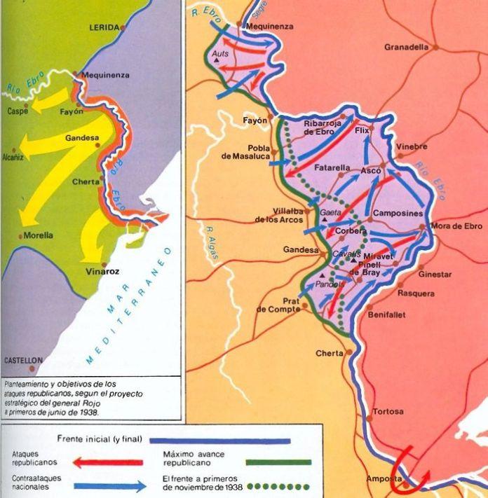 La gran batalla del Ebro, 1938