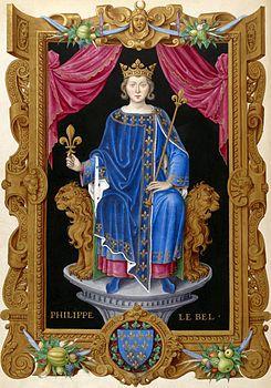 Felipe IV el Hermoso de Francia