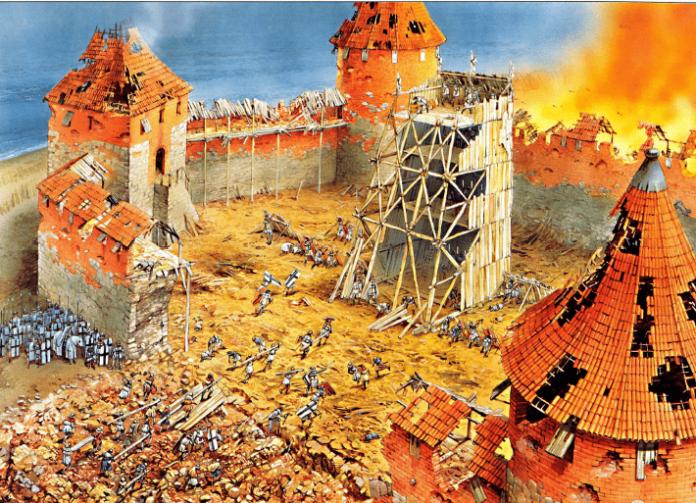 Asedio al castillo de Kaunas 1362