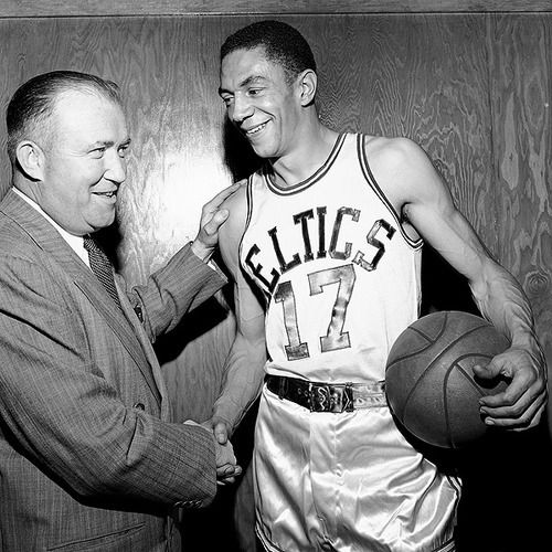 Chuck Cooper y Walter Brown