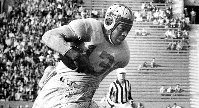 Kenny Washington con los LA Rams