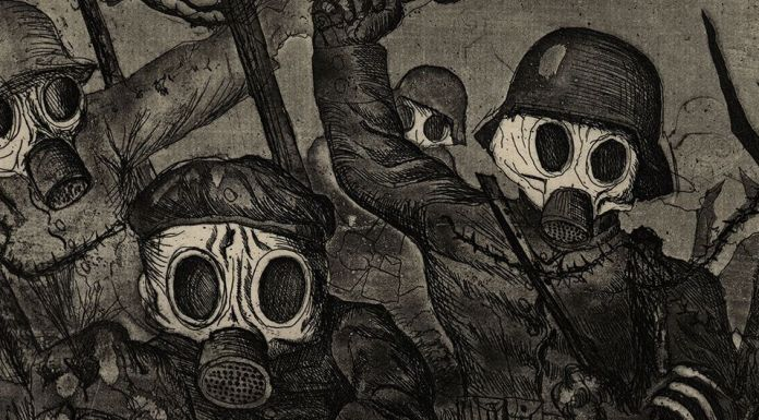 "Serie gráfica ""La guerra"", 1924."