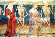 Janez de Kastav, Danza macabra de la iglesia de Hrastovlje (Eslovenia), 1480.