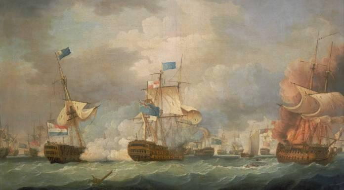 Thomas-Whitcombe-Battle-of-Camperdown