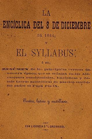 Portada del Syllabus