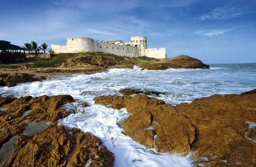 Castillo Cape Coast, punto de recogida de negros